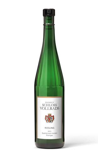 schloss-vollrads-white-wine-riesling-wine-bottle